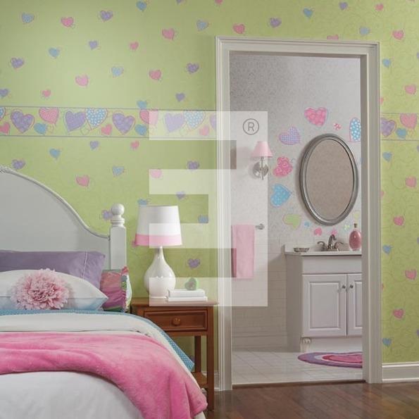 Papeles pintados y stickers para habitaciones de ni os - Cuartos de ninos pintados ...