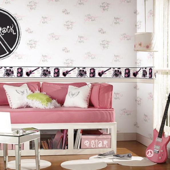 Papeles pintados y stickers para habitaciones de ni os for Stickers para habitaciones