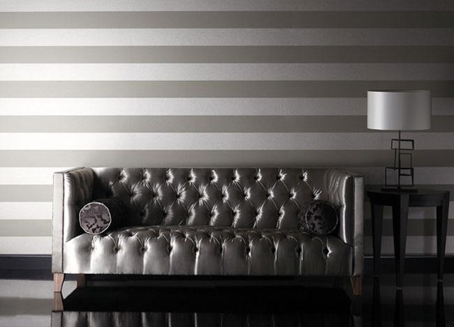 Papel pintado rayas horizontales - Villalba Interiorismo (10)