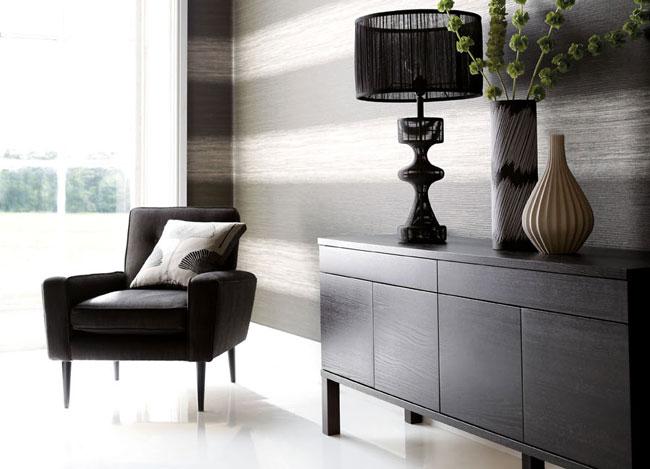 Papel pintado rayas horizontales - Villalba Interiorismo (2)