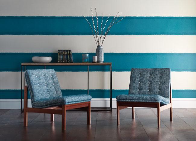 Papel pintado rayas horizontales - Villalba Interiorismo (4)