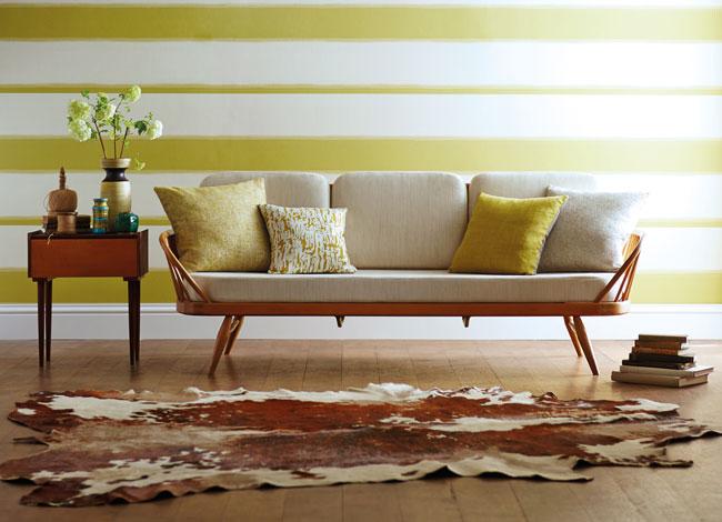 Papel pintado rayas horizontales - Villalba Interiorismo (8)
