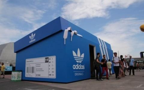 Pop up Adidas - Villalba Interiorismo