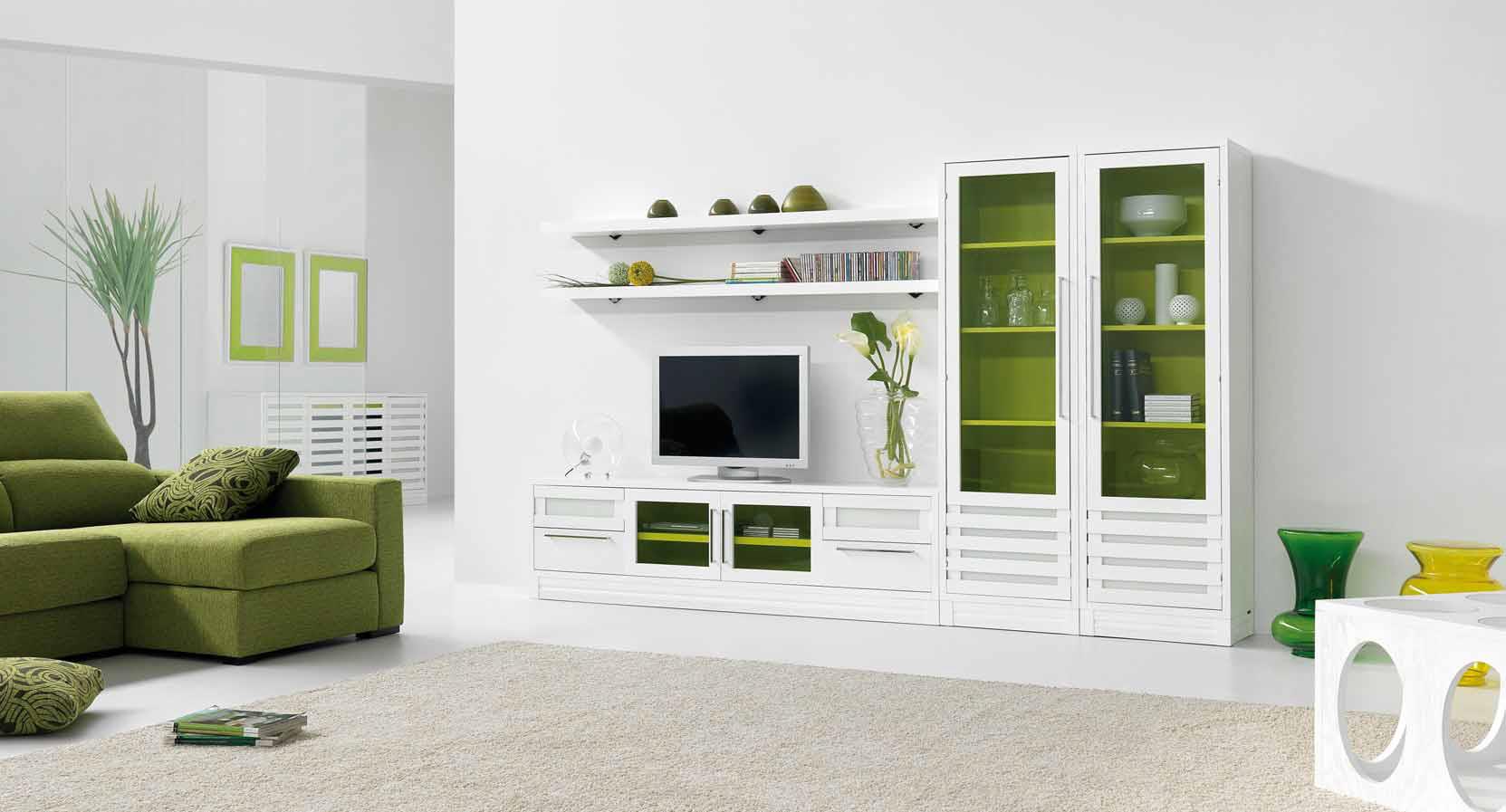 El color verde, la naturaleza en casa – Villalba Interiorismo