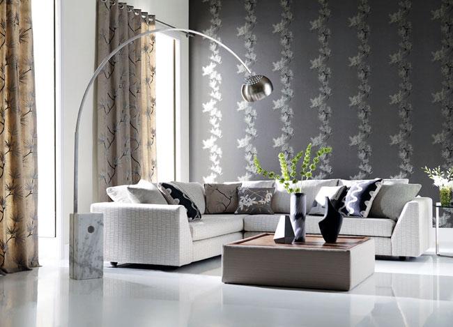 Salón en blanco, gris y negro - Villalba Interiorismo (3)