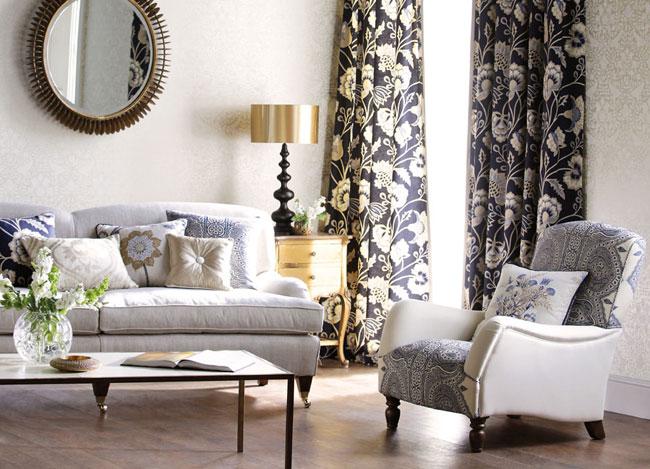 Salón en blanco, gris y negro - Villalba Interiorismo (5)