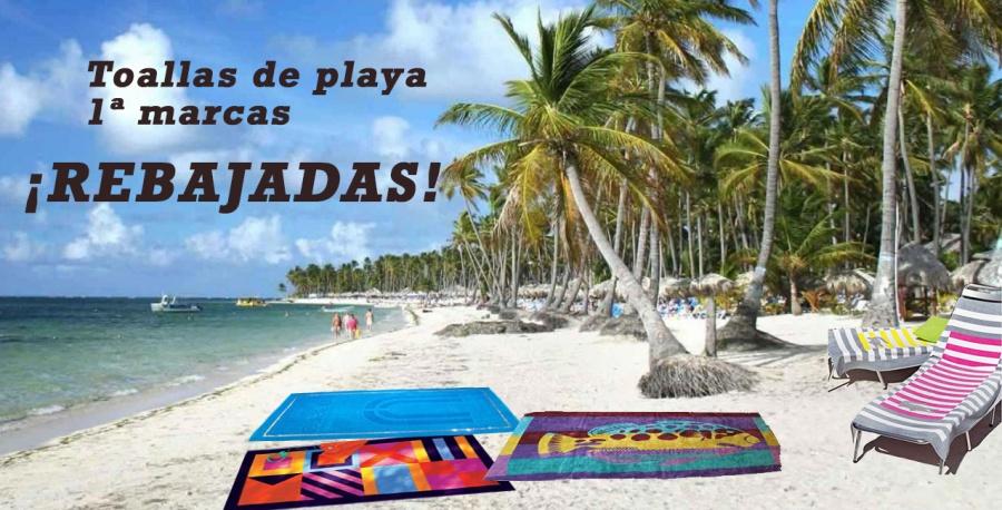 Toallas de playa rebajadas - Villalba Interiorismo