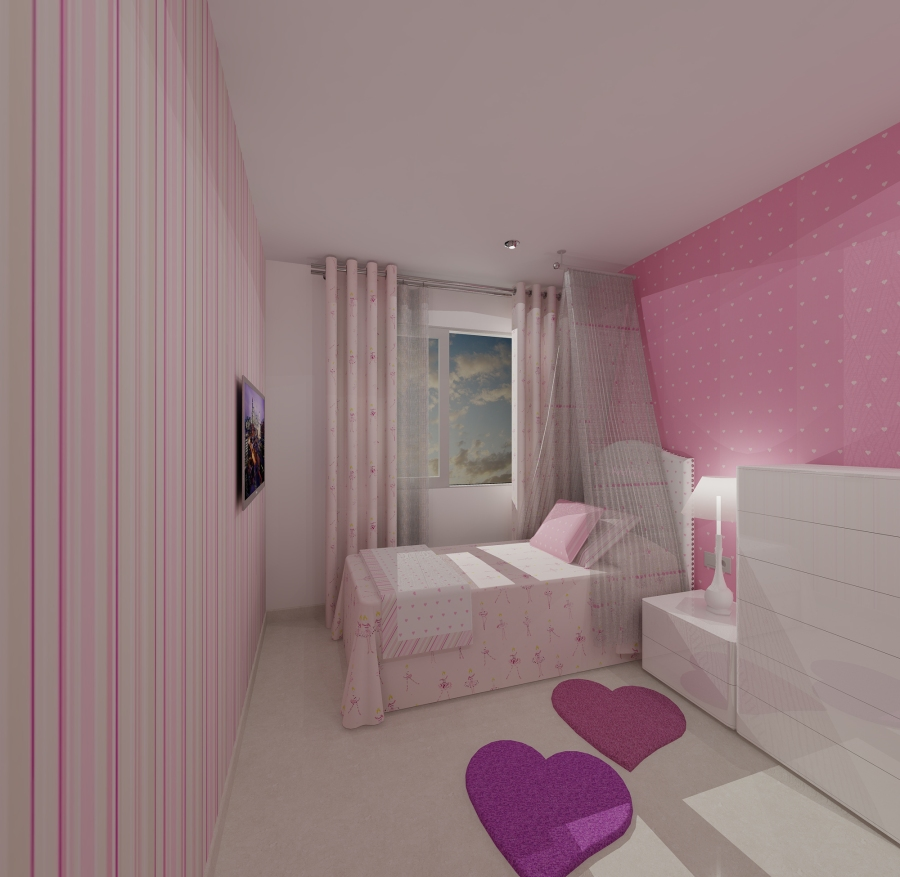 Habitación niñas - Villalba Interiorismo