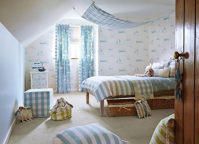 Habitación niños estilo marinero - Villalba Interiorismo