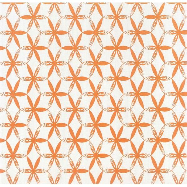 Muestra de juego sábanas Sibori naranja de Bassols - Villalba Interiorismo
