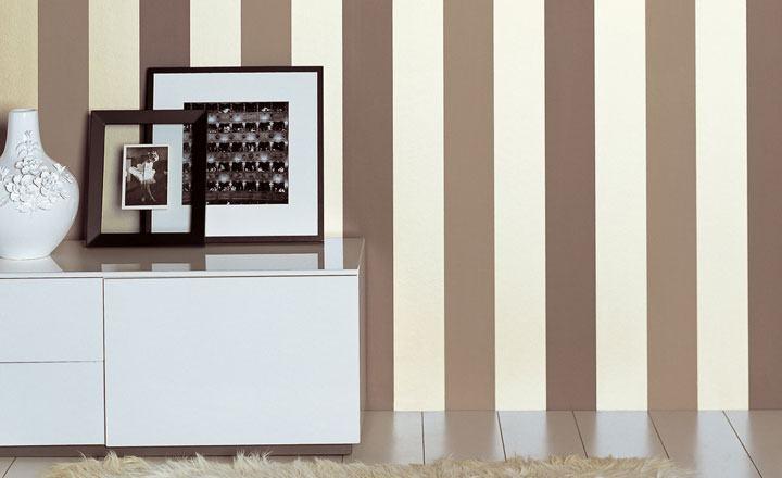 Papel pintado a rayas - Villalba Interiorismo (2)