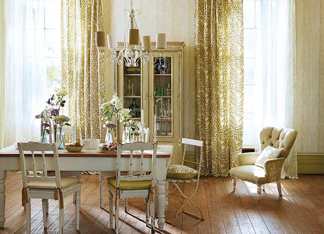 Salón romántico - Villalba Interiorismo