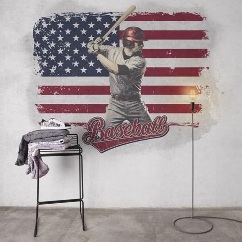 Mural Baseball de Coordonné - Villalba Interiorismo