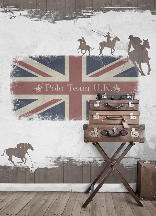 Mural Polo team de Coordonné - Villalba Interiorismo