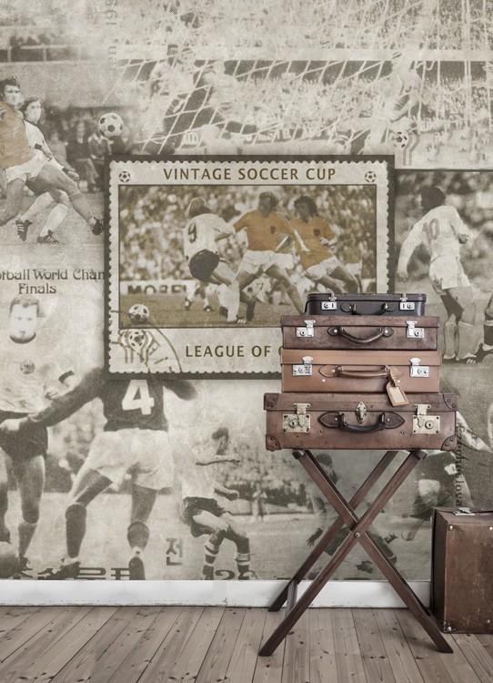 Mural Soccer de Coordonné - Villalba Interiorismo