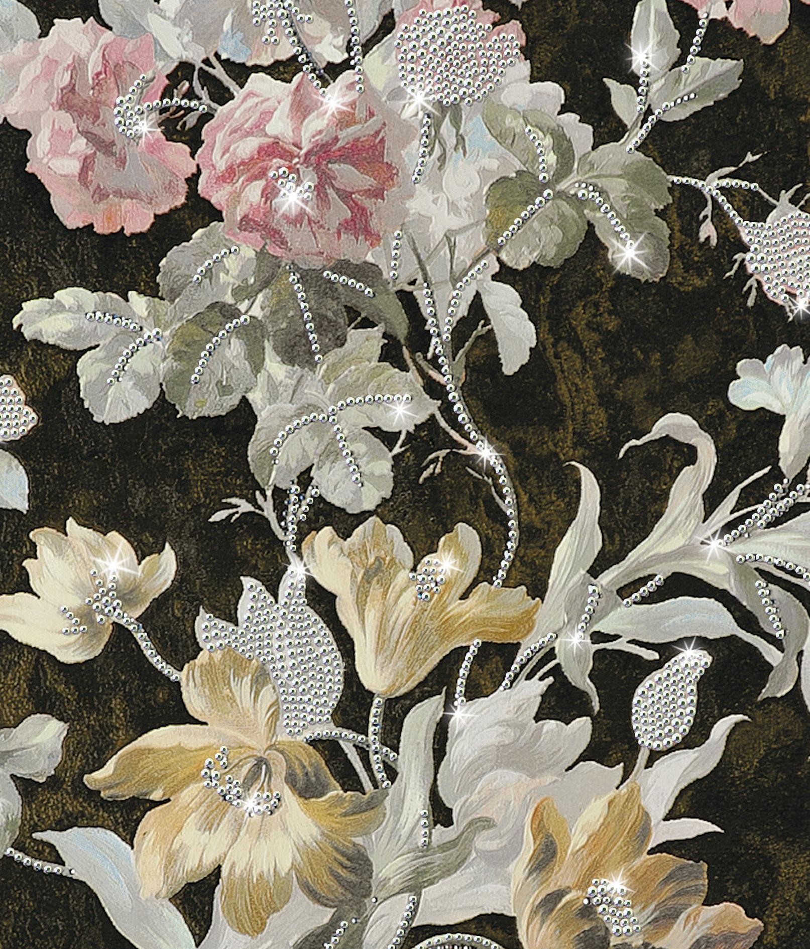 El lujo en el papel pintado dise ado por roberto cavalli for Catalogos de papel pintado