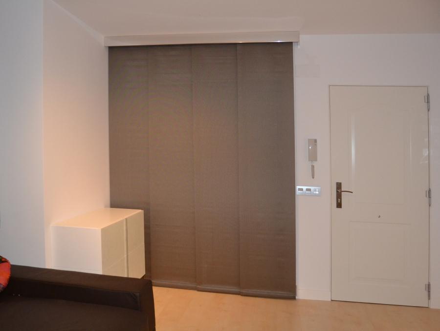 Salón con panel japonés - Villalba Interiorismo