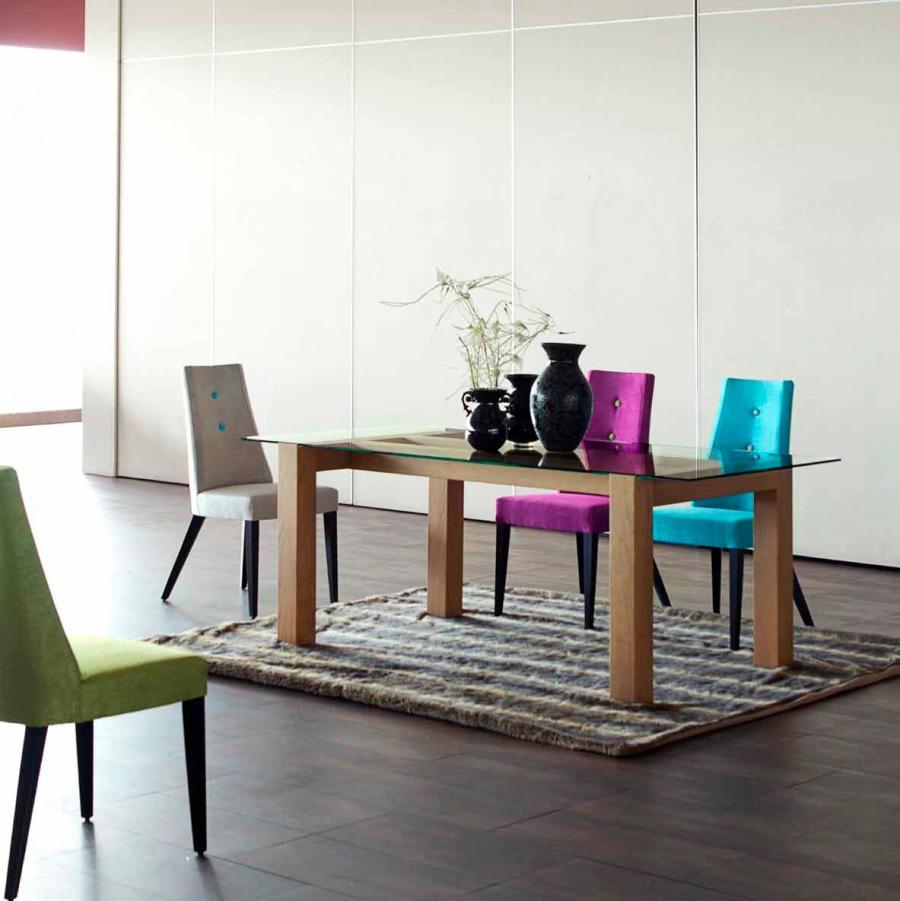 Sillas tapizadas modelo Park - Villalba Interiorismo