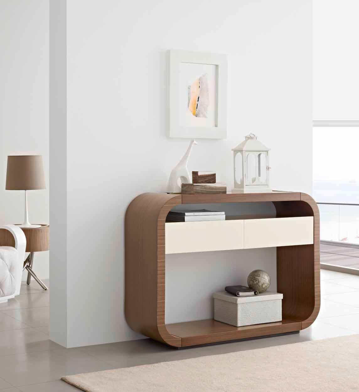 5 consolas modernas villalba interiorismo - Entradas modernas muebles ...