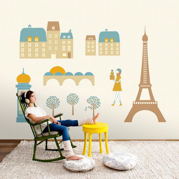 Mural de Paris Coordonné - Villalba Interiorismo