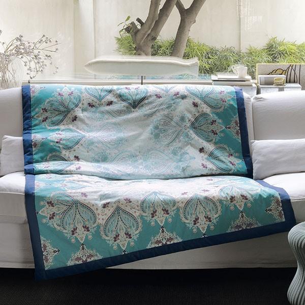 Los agradables plaids de bassetti villalba interiorismo - Plaids para sofas ...