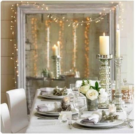 Decoración mesa de Navidad - Villalba Interiorismo (3)