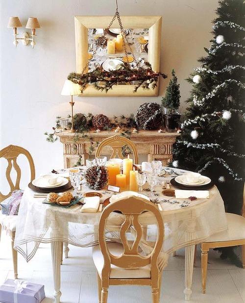 Decoración mesa de Navidad - Villalba Interiorismo (5)