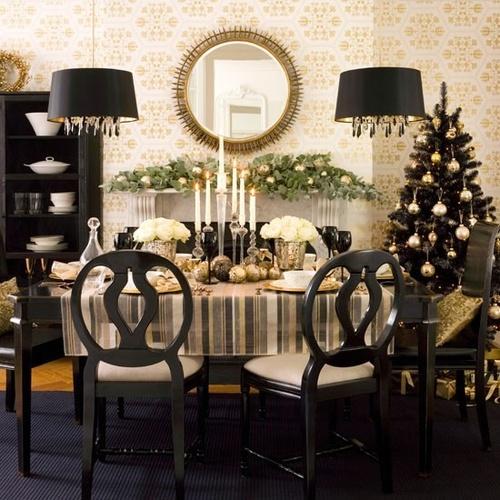 Decoración mesa de Navidad - Villalba Interiorismo (6)