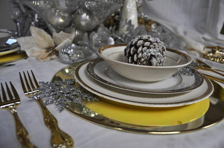 Decoración mesa de Navidad - Villalba Interiorismo (9)