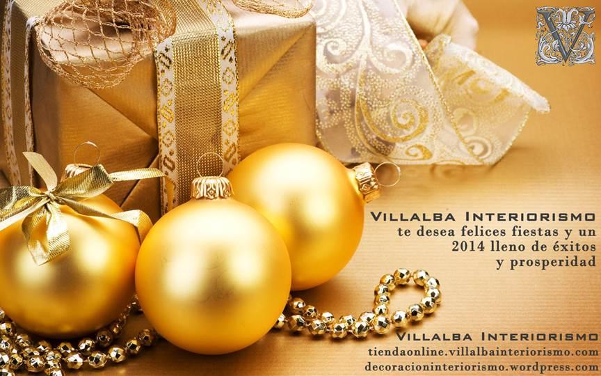 Feliz Navidad - Villalba Interiorismo