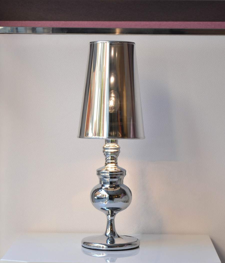 Lámpara cromo