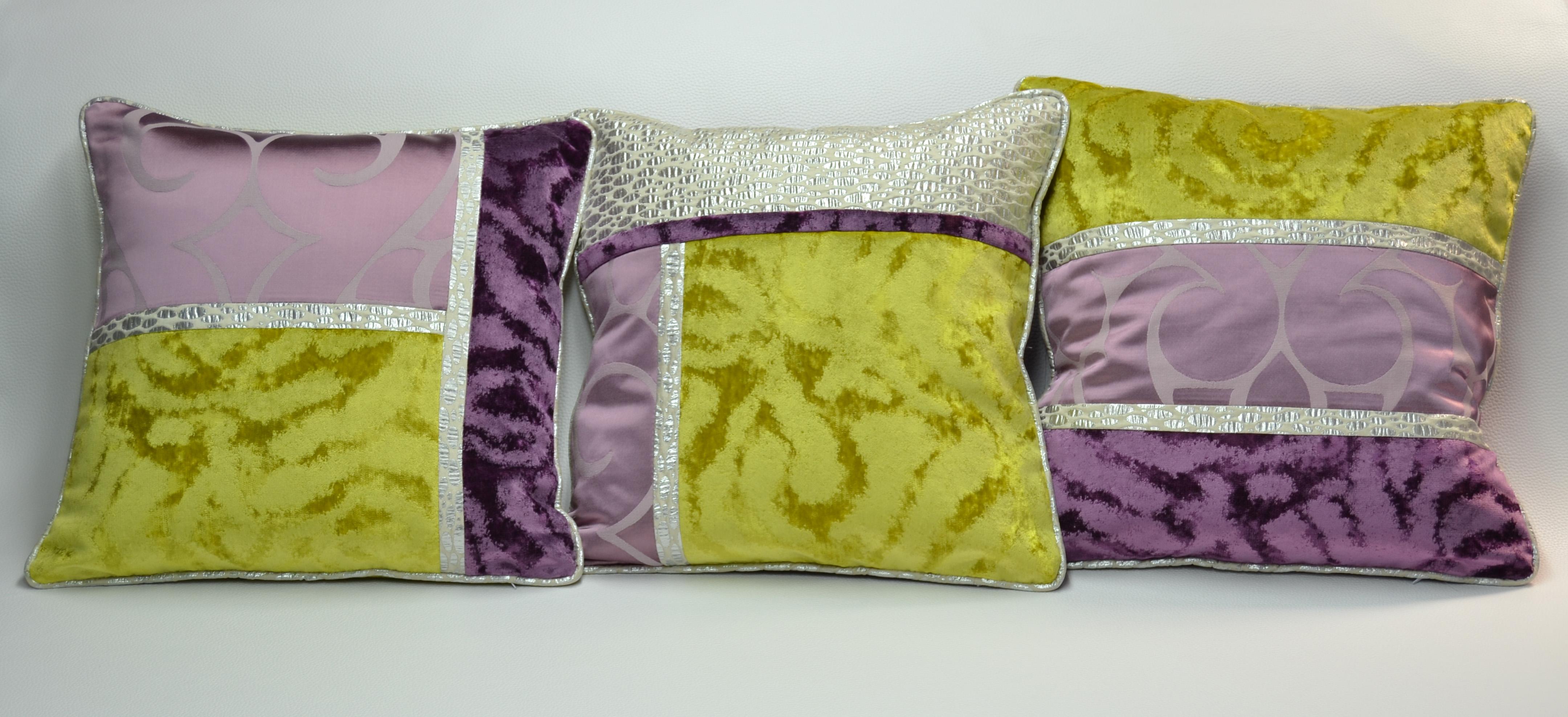 Cojines muy originales villalba interiorismo - Cojines de patchwork ...