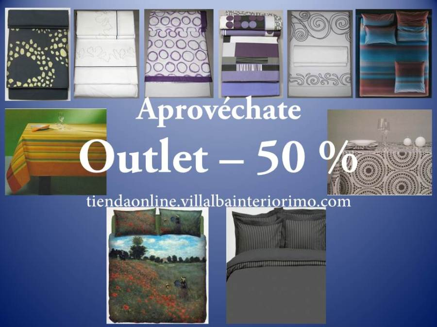 Outlet - 50%  - Villalba Interiorismo