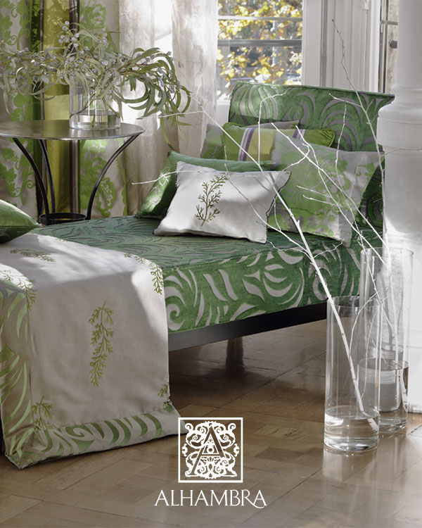 Chaise longue tapizado terciopelo (Alhambra) - Villalba Interiorismo