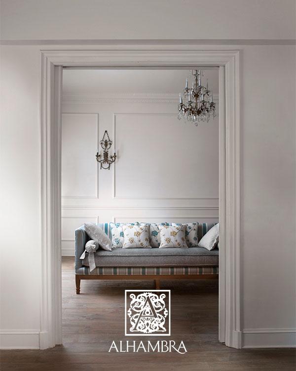 Cojines bordados - Villalba Interiorismo (2)
