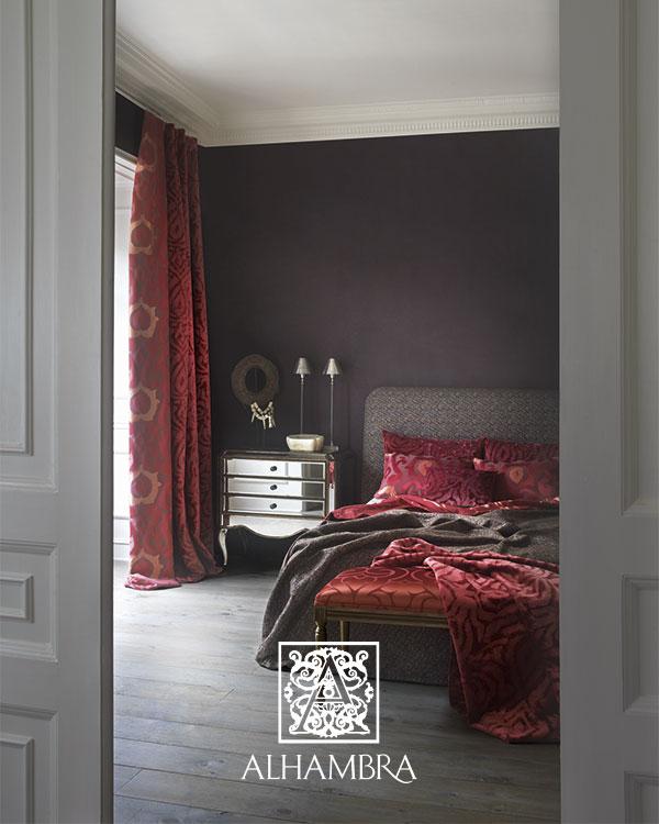 Dormitorio en rojo - Villalba Interiorismo
