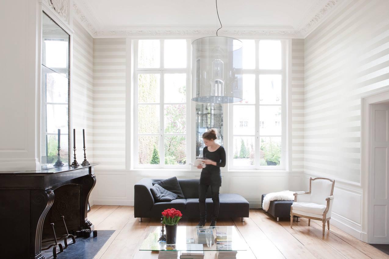 8 ventajas para colocar papeles pintados villalba interiorismo - Papel para salones ...