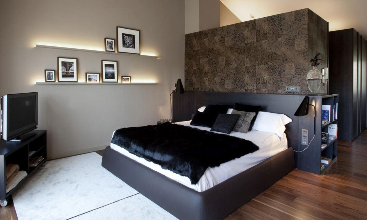 8 ventajas para colocar papeles pintados villalba - Papel para paredes de dormitorios ...