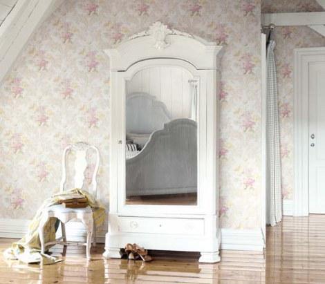 8 ventajas para colocar papeles pintados villalba - Salones con papel pintado ...