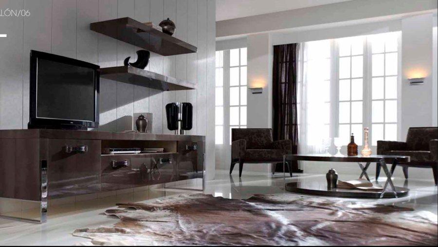 Salón moderno - Villalba Interiorismo (2)