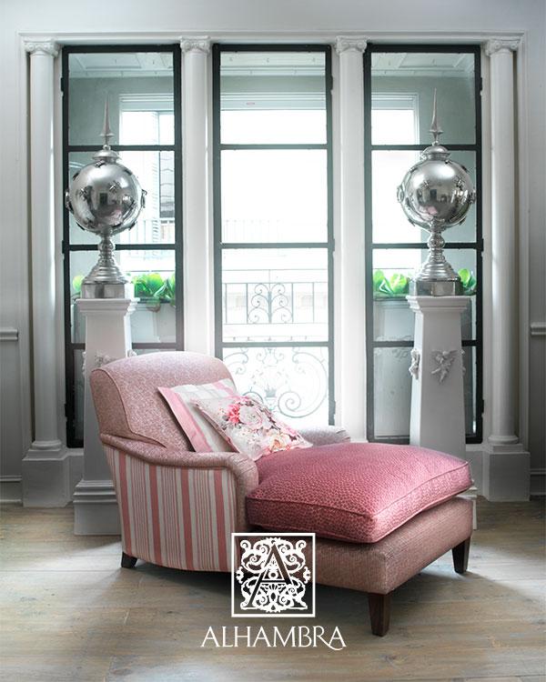 Sillón tapizado terciopelo (Alhambra) - Villalba Interiorismo (4)