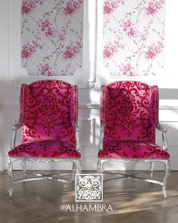 Sillones tapizados terciopelo (Alhambra) - Villalba Interiorismo (3)
