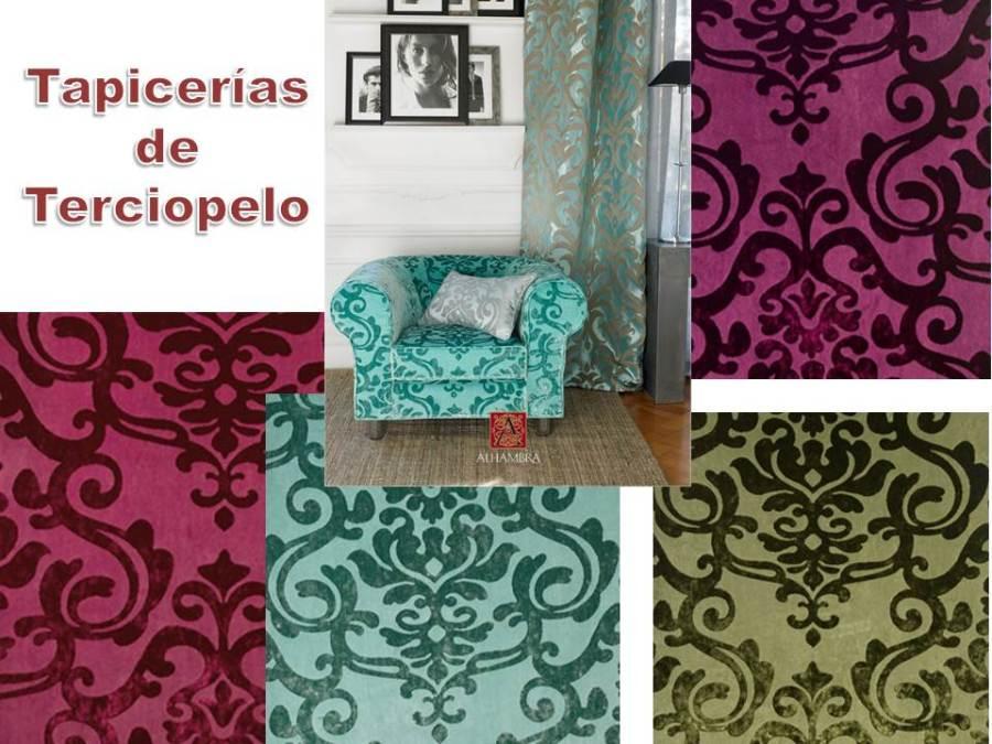 Tapicerías terciopelo (Alhambra) - Villalba Interiorismo (2)