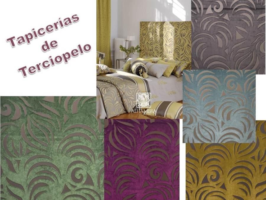 Tapicerías terciopelo (Alhambra) Villalba Interiorismo