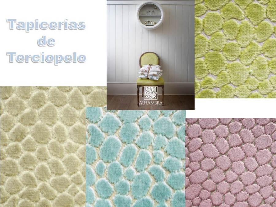 Tapicerías terciopelo (Alhambra) - Villalba Interiorismo