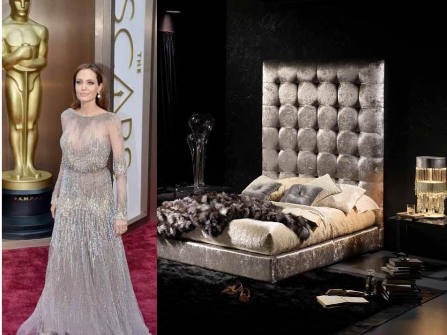 Angelina Joli y decoración glamour - Villalba Interiorismo jpg
