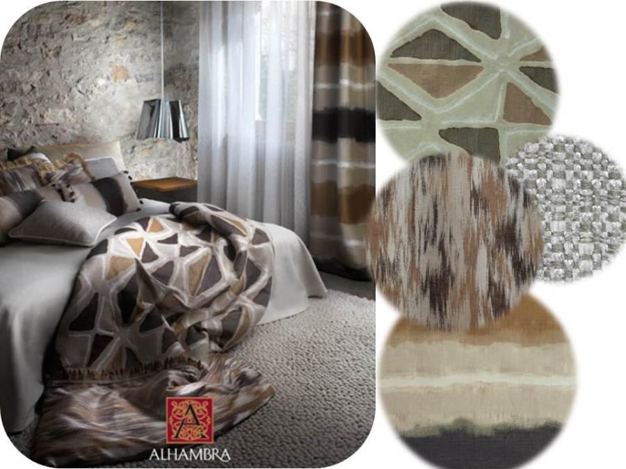 Cojines con distintas texturas y dibujos - Villalba Interiorismo (5)