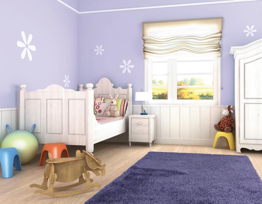 Cortina habitación de niños - Villalba Interiorismo (2)