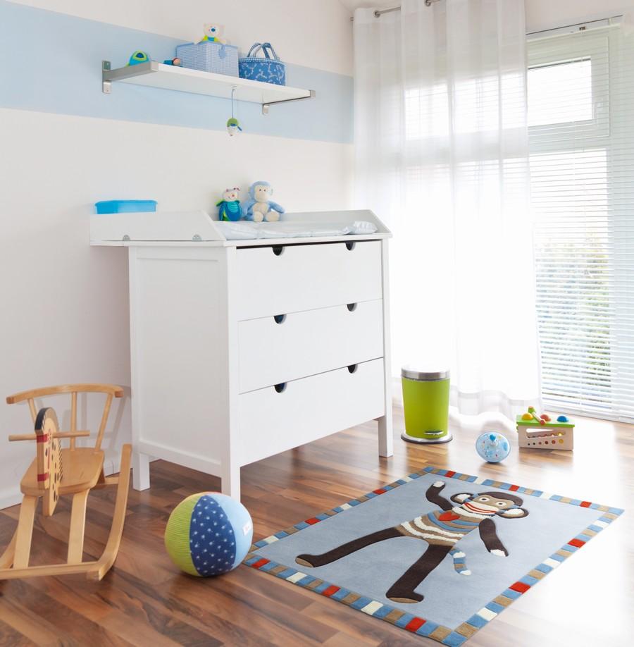 Cortina habitación de niños - Villalba Interiorismo