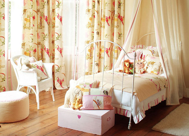 Cortinas habitación niños - Villalba Interiorismo